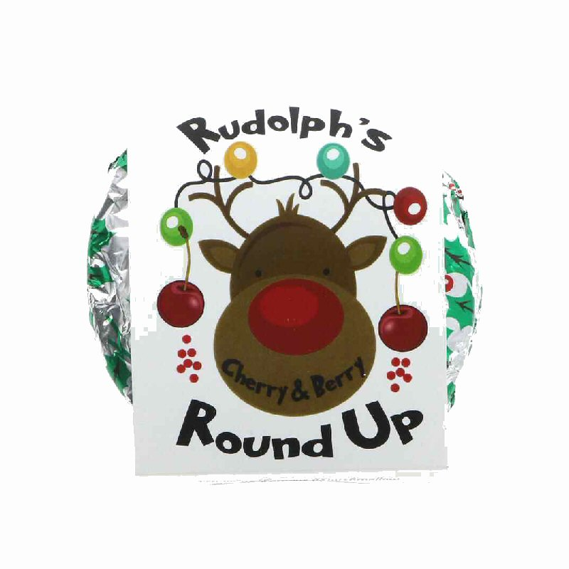 Rudolph's Novelty Christmas Wagon Wheel Treat 75g