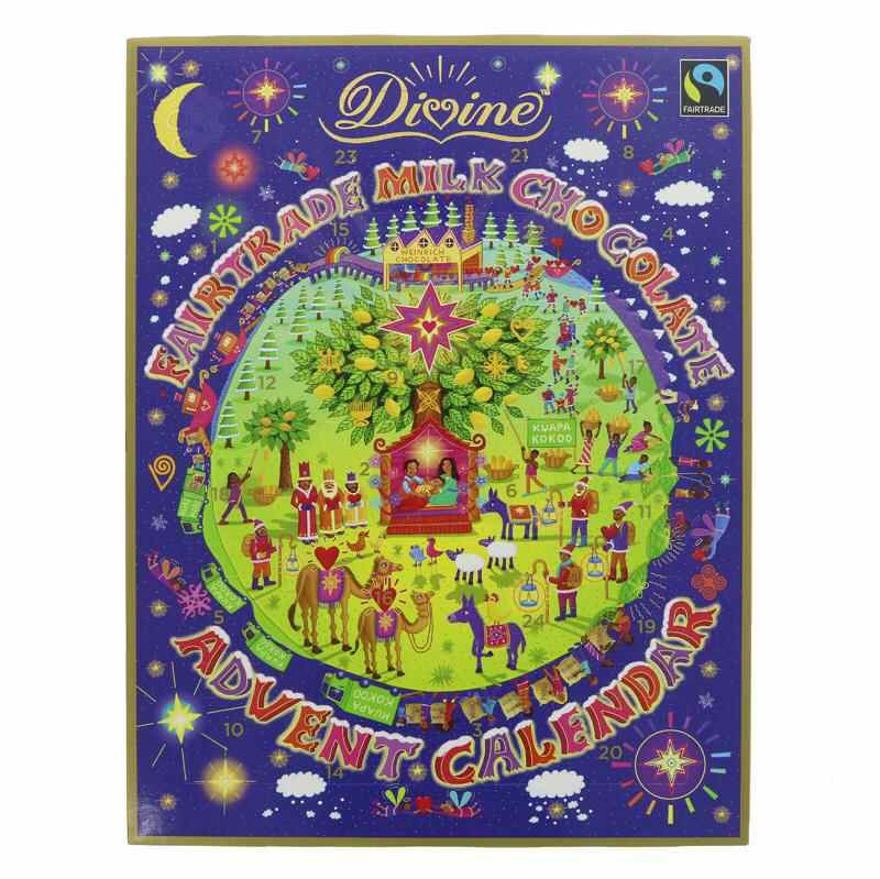 Divine Milk Chocolate Advent Calendar