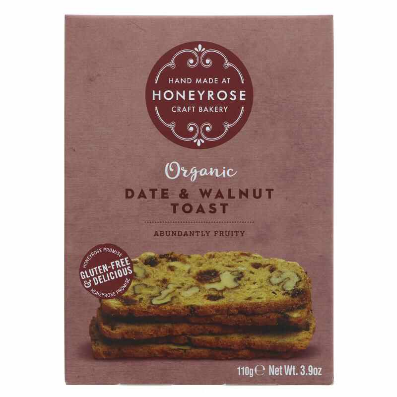 Honey Rose- Date & walnut Toasts 110g