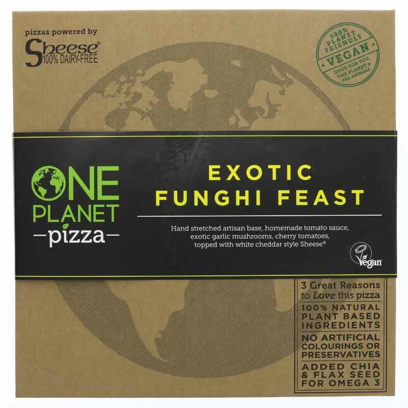 One Planet Pizza Fungi Feast Pizza -  Vegan  455g