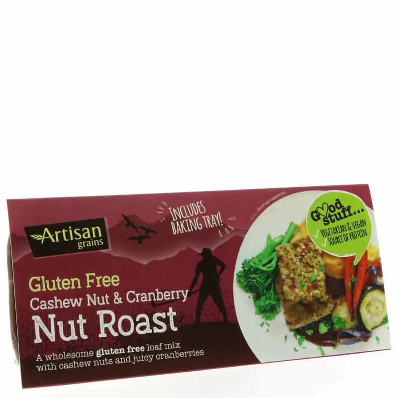 Artisan Nut Roast Mix - Cashew & Cranberry  200g - Vegan