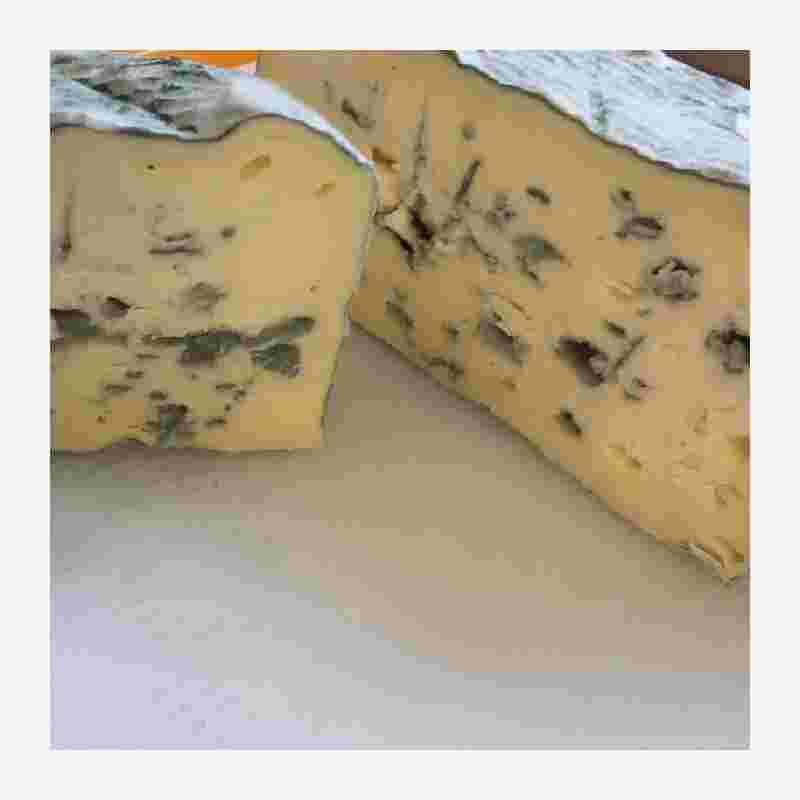 Pexommier Devils Rock soft blue cheese truckle 233g