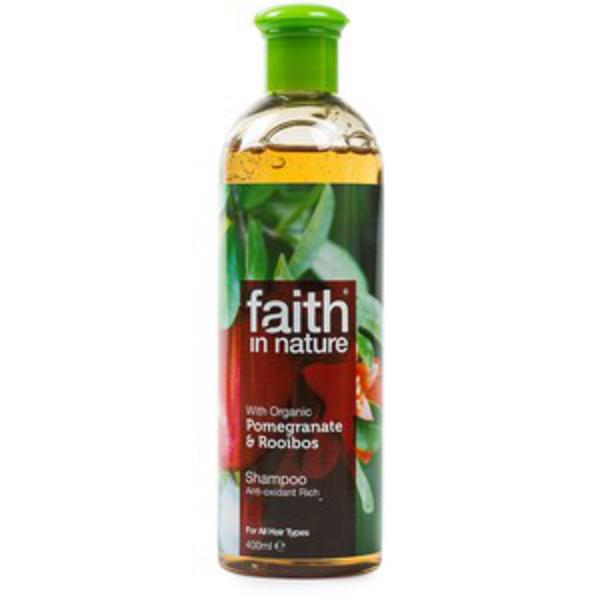 Faith in Nature Pomegranite & Rooibos shampoo 400ml