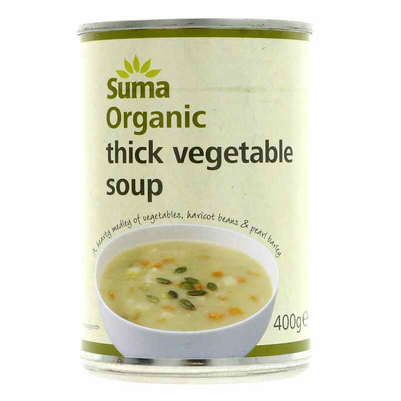 Suma Rustic Vegetable Soup 400g