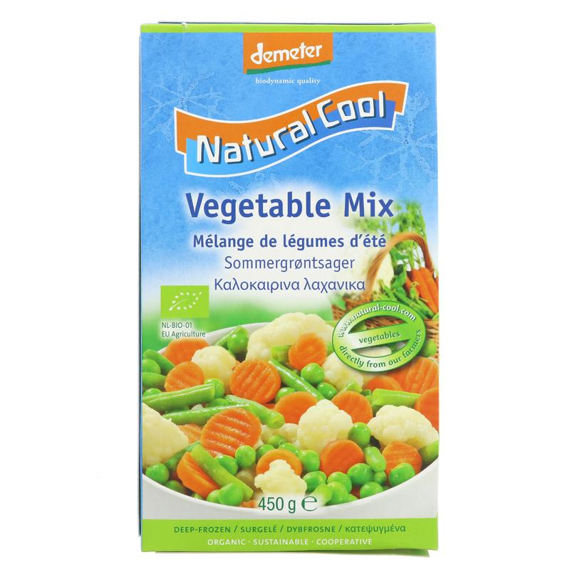 Natural Cool Summer vegetable mix 450g