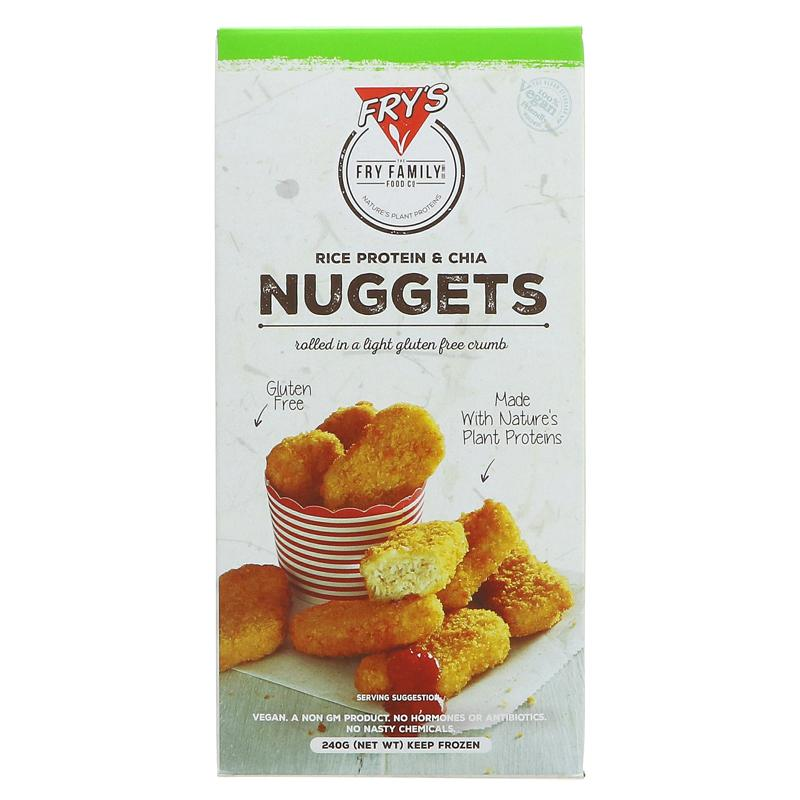 Frys Rice Protien/Chia vegan Nuggets 240g