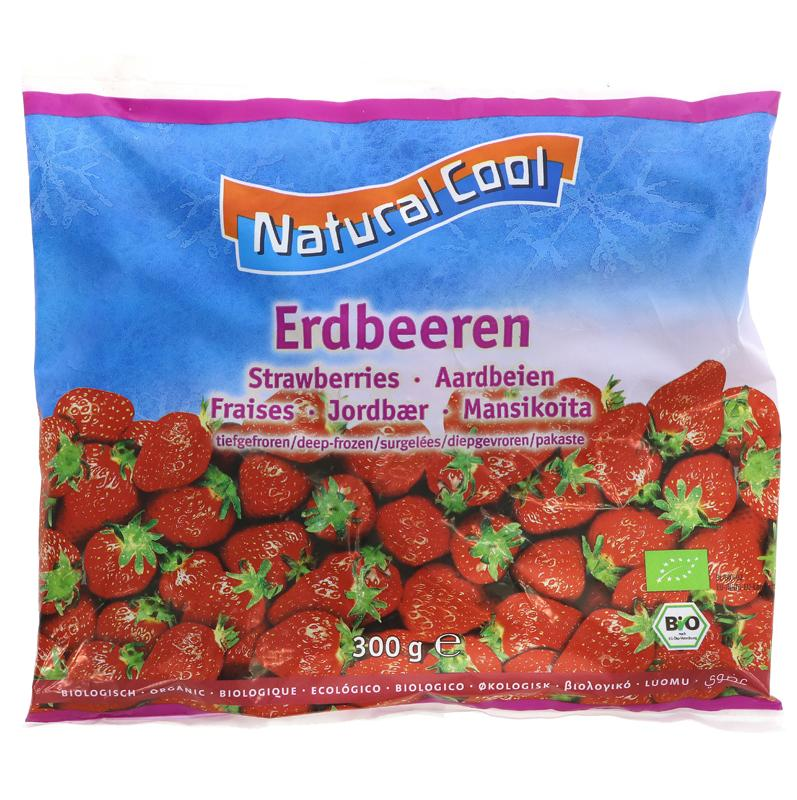 Natural Cool Frozen Strawberries 300g