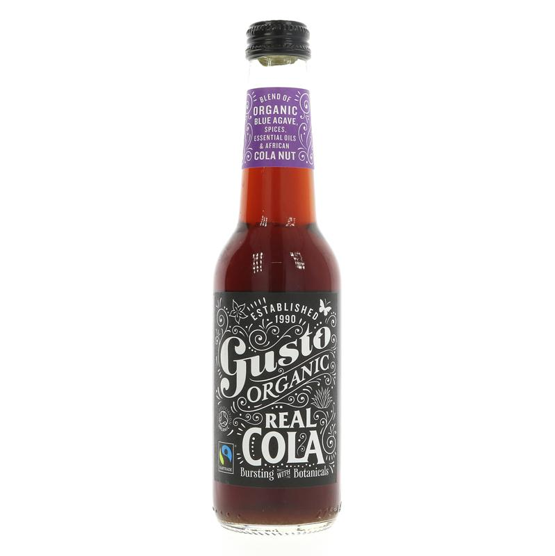 Gusto Organic Cola agave sweetened 275ml