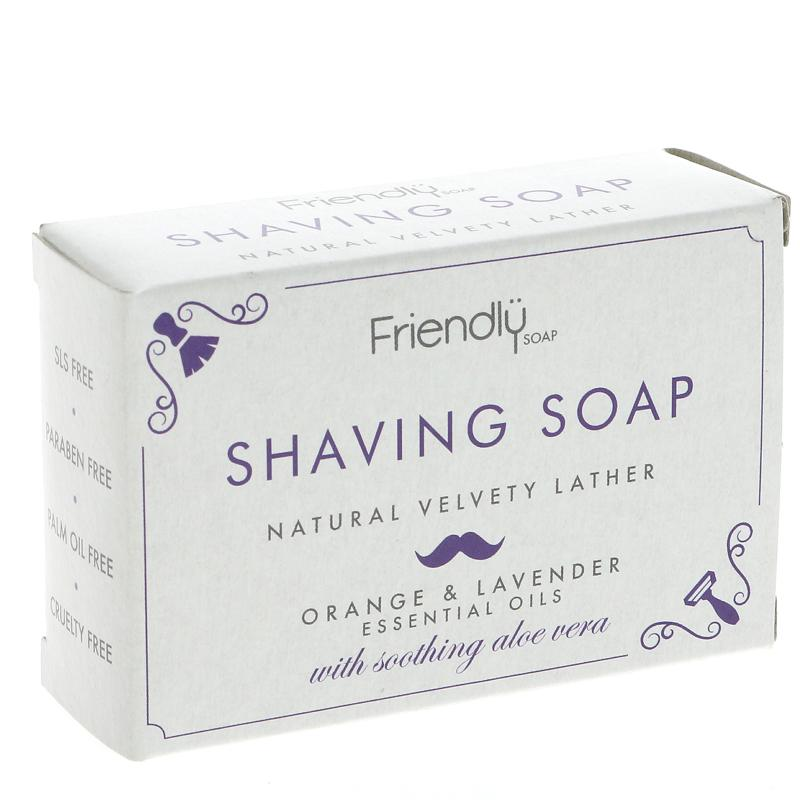 Friendly Shaving Soap Orange/Lavender 95g