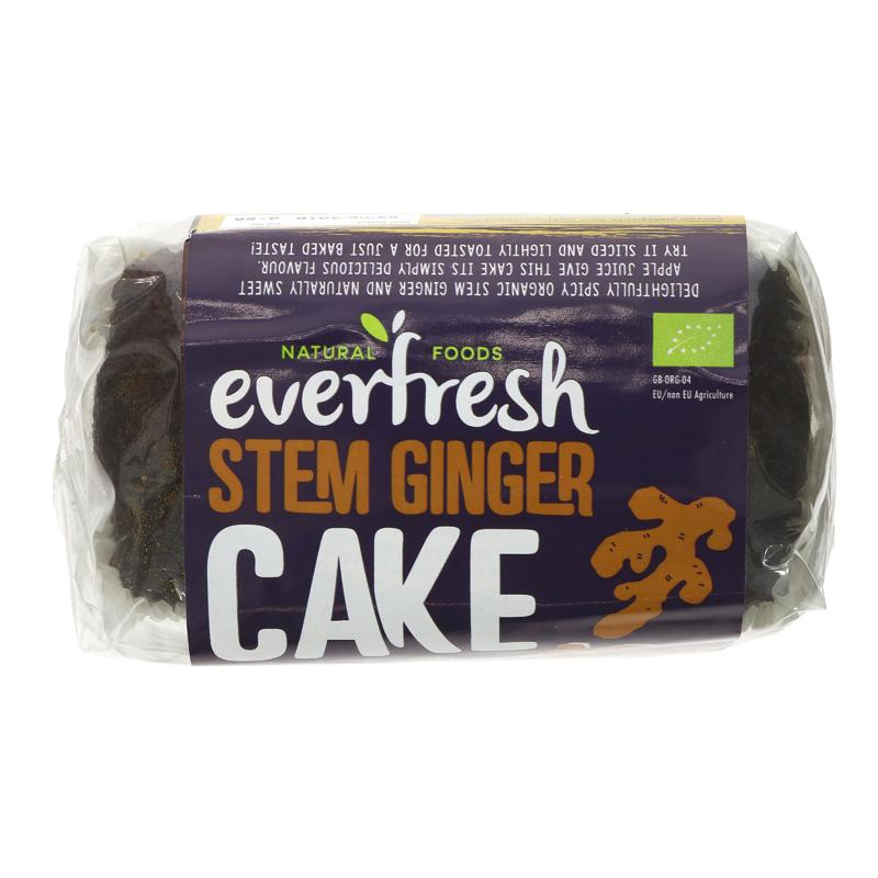 Everfresh Ginger Cake 400g vegan sweetened with apple juice