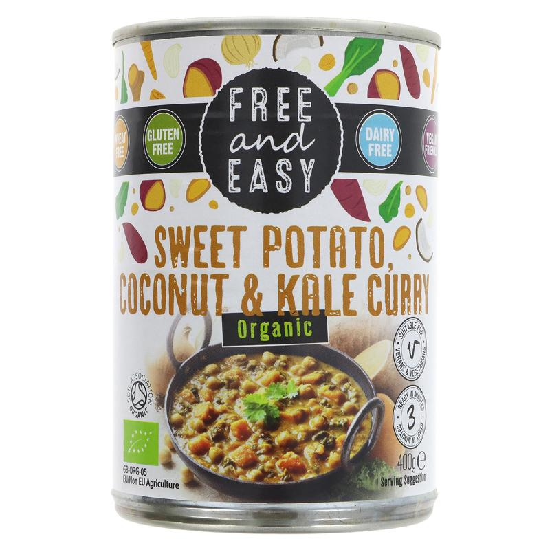Free & Easy sweet pot/coconut curry 400g glut free vegan