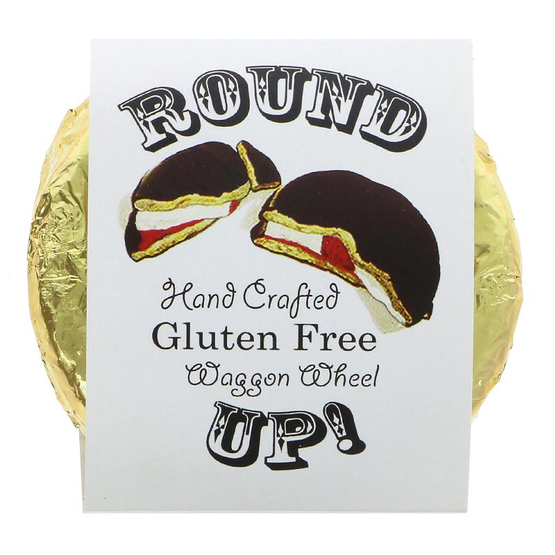 Gluten free Round up Wagon Wheel Treat 75g V/NO/G