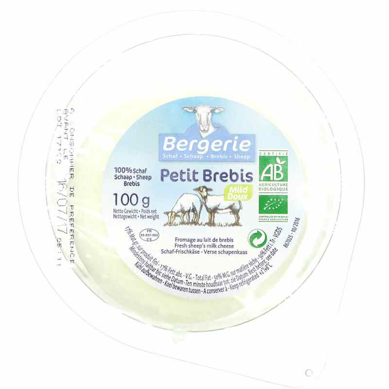 Bergerie Organic Sheep's Soft Cheese 150g