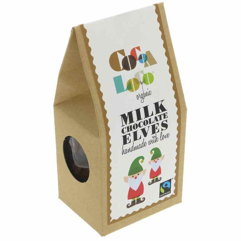 Cocoa Loco Milk chocolate Elves 100g F
