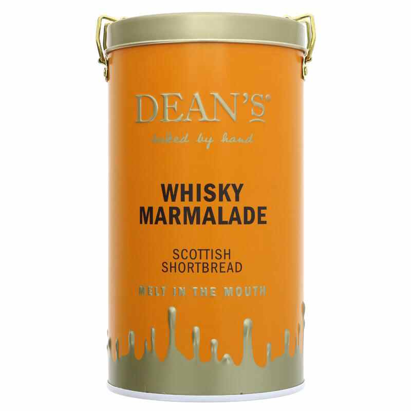 Dean's Family Whiskey Marmalade Shortbread  150g NO