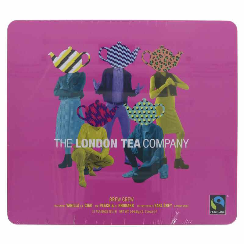 London Tea Company Brew Crew Gift Tin –