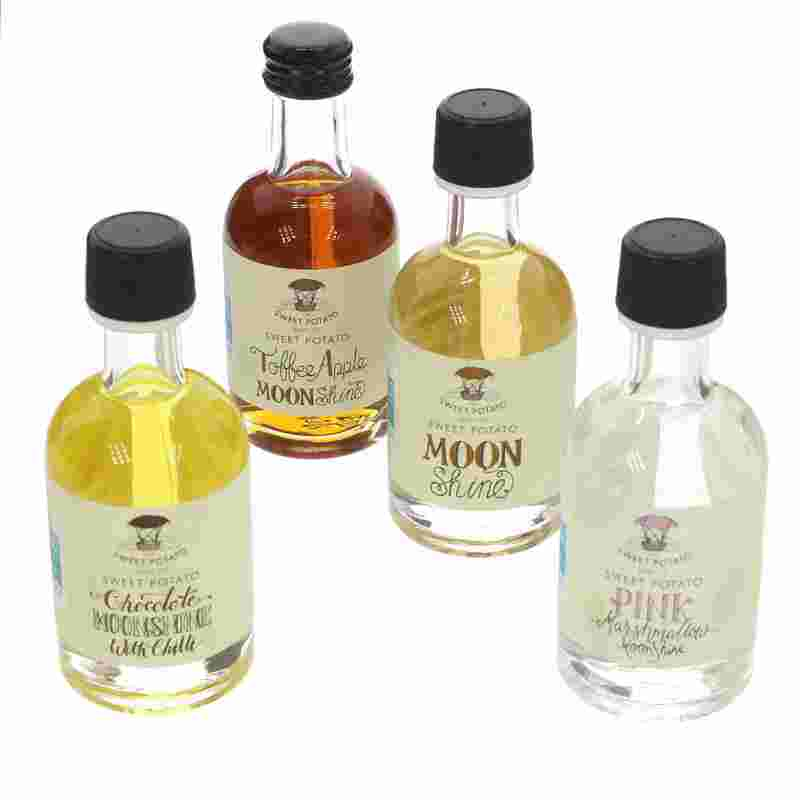 Sweet Potato Spirits Company Mini Moonshines Gift Pack  4 x 5cl