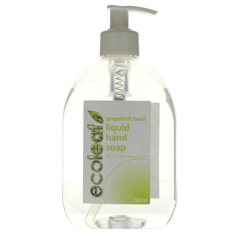 Ecoleaf Liquid hand soap 500ml Vegan NOW REFILLABLE