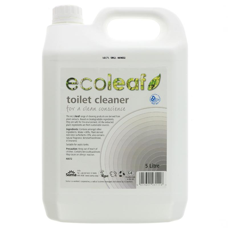 Ecoleaf Toilet cleaner 5L