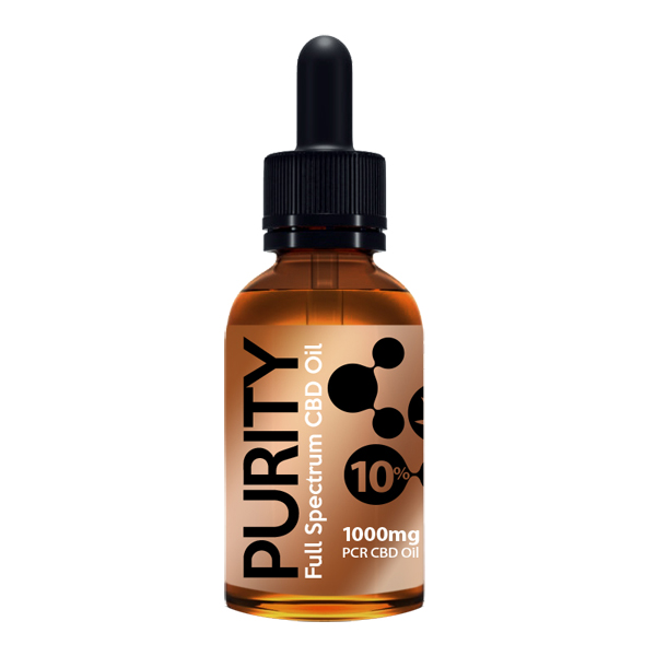 A Full Spectrum CBD Oil 10% strength (approx 200 drops)