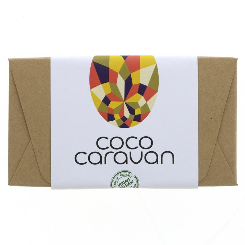 Cococaravan Vegan caramel mini chocolate Easter Eggs (8)