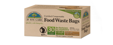 If You Care compostable caddy food waste bags (30)