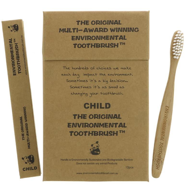 Enviromental Toothbrush child