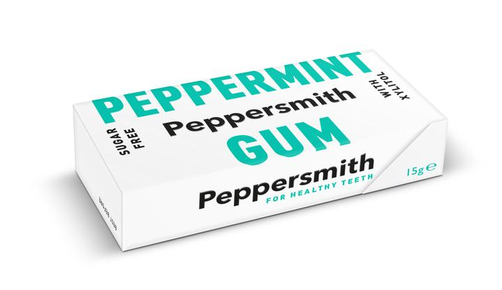 Peppersmith Spearmint Gum (plant based zylitol sweetener) 15g