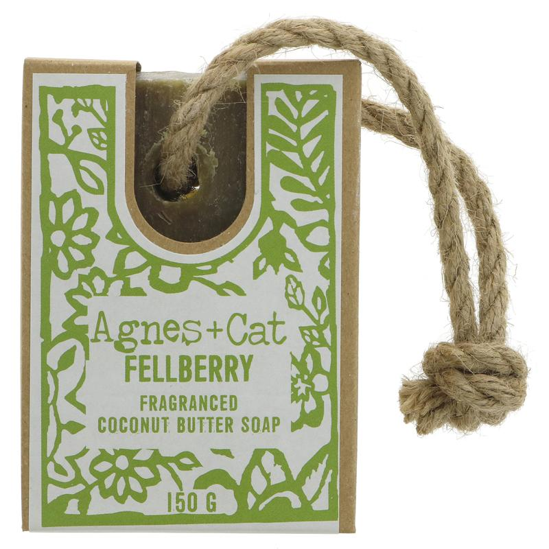 Agnes & Cat Soap rope Fellberry - Vegan