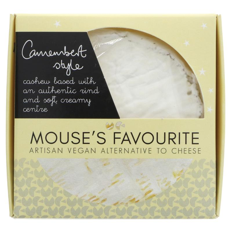 Mouses Favourite Camembert style cheese   135g - Vegan