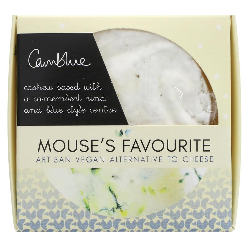 Mouses Favourite Camembert blue style cheese   135g - Vegan