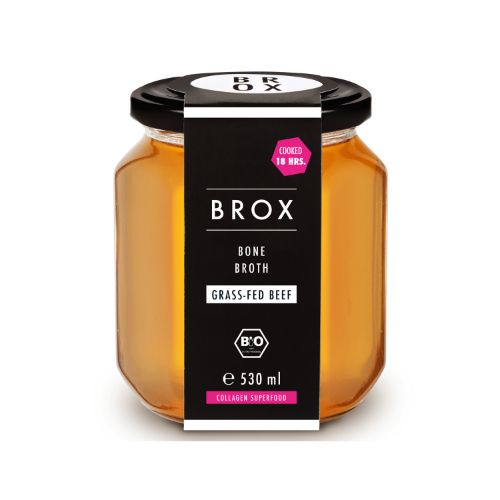 Bronx bone broth Beef 530ml (Glass)
