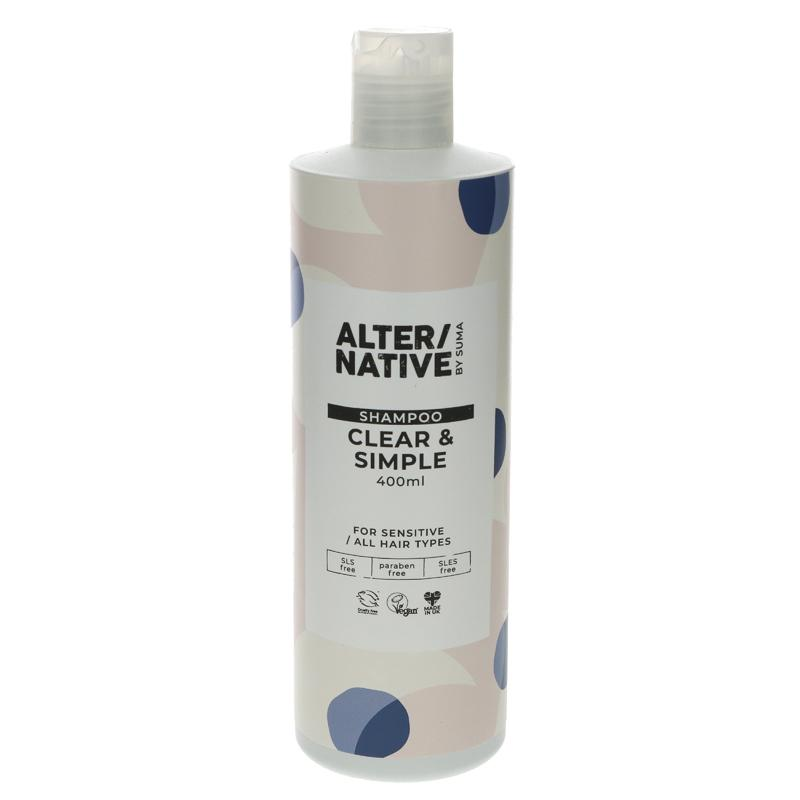 Alter/native simple Shampoo 400ml vegan (no fragrance)