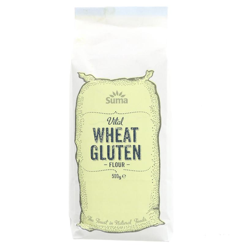 Wheat Gluten (to make seitan) vegan 500g