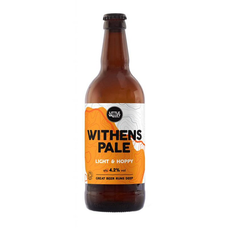 Little Valley Brewery Withen's Pale Ale 500ml 4%