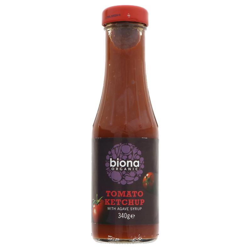 Biona tomtao ketchup 340g agave sweetened