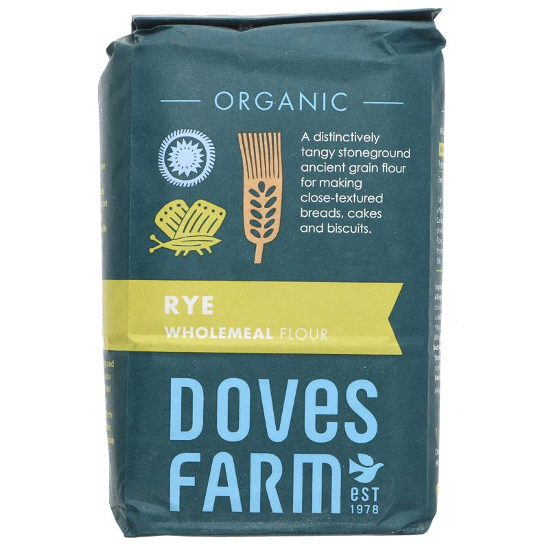 Doves Farm Wholegrain Rye flour 1kg