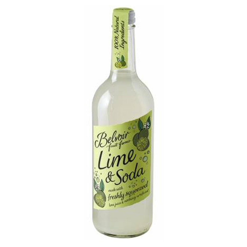 Belvoir Lime & Soda 750ml non organic