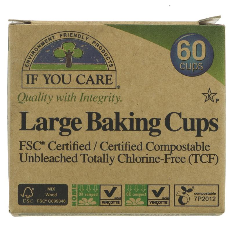 If you Care Large Baking Cups (60)