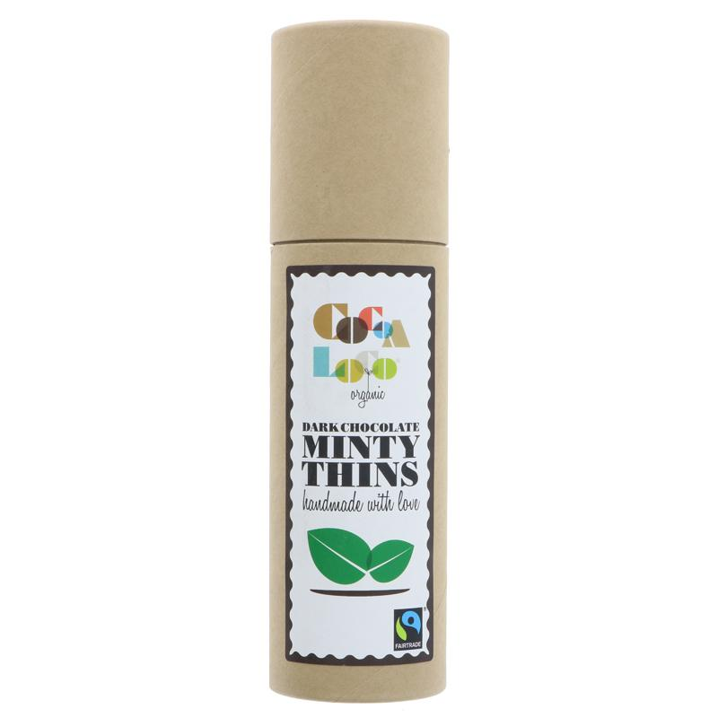 Cocoa Loco Minty Thins 170g
