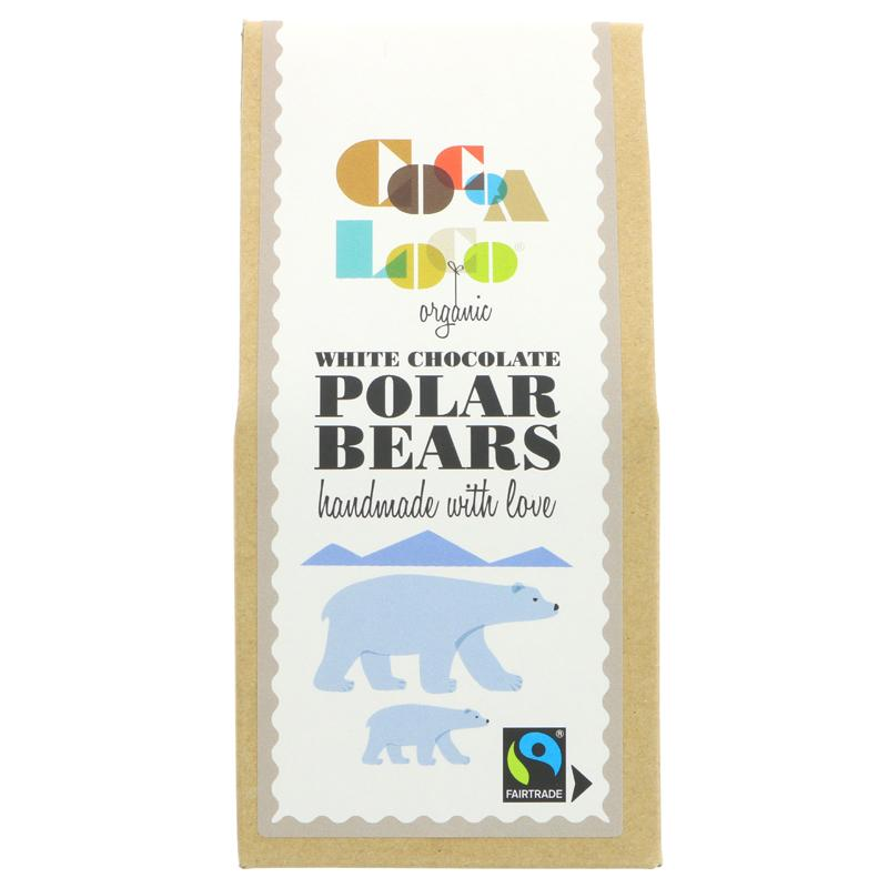 Coco Loco White Chocolate polar Bears    100g