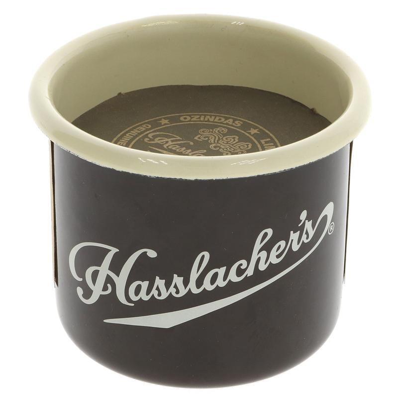 Hasslasher's Enamel Mug with Hot Chocolate  Drops Vegan