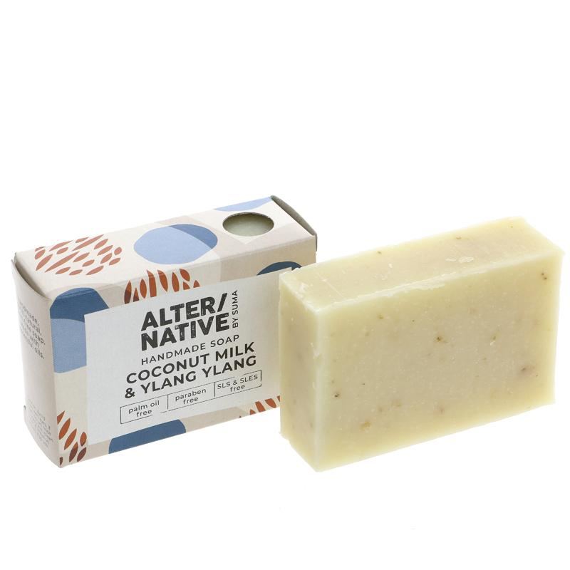 Alter/native by Suma Coconut Ylang Ylang boxed soap    95g