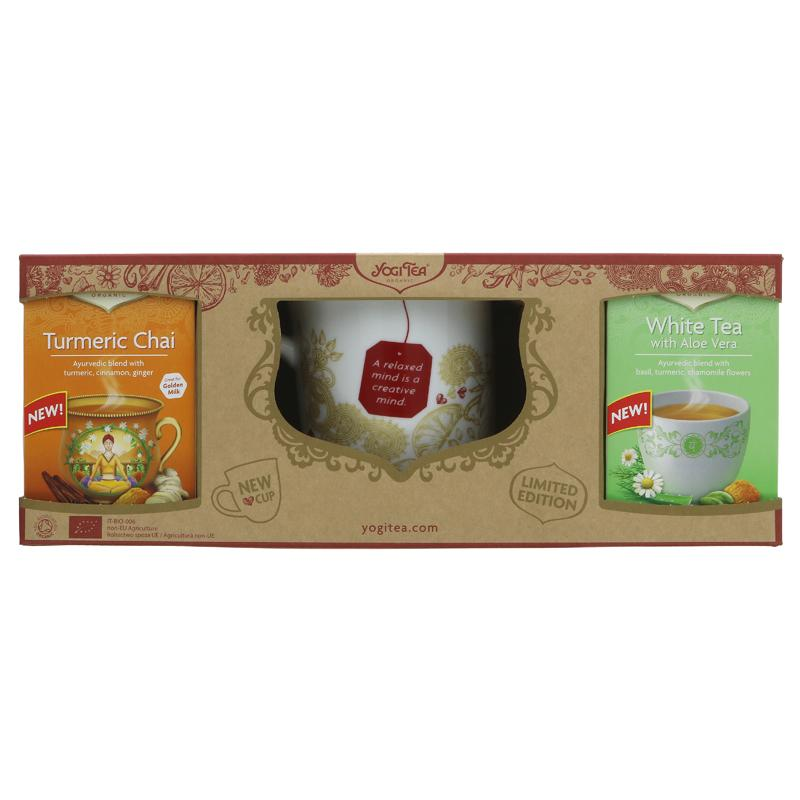 Yogi Tea Yogi Gift Pack with Mug    150g