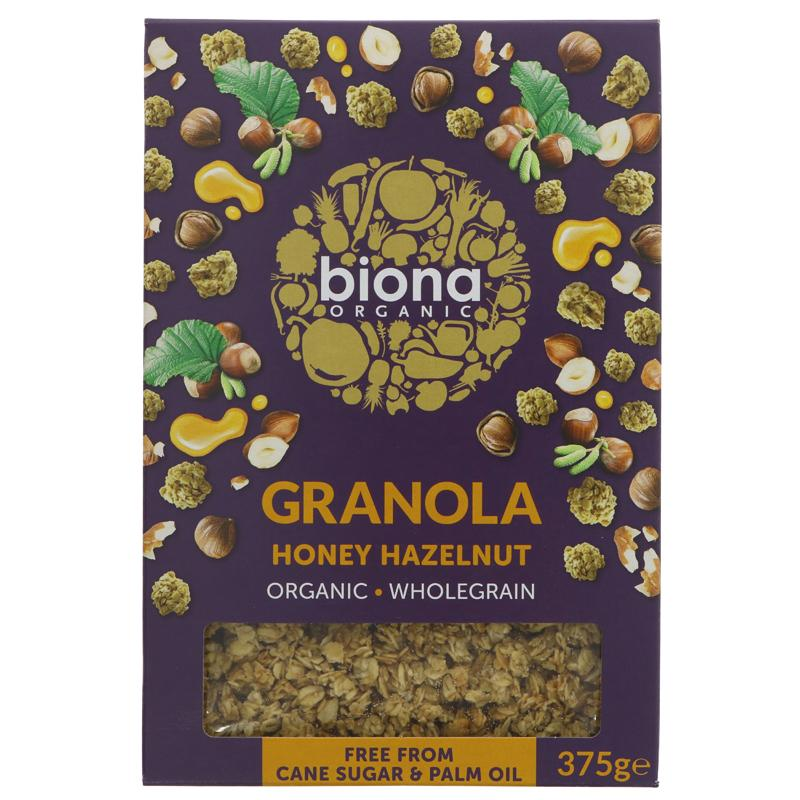 Biona Honey Hazlenut Granola 275g