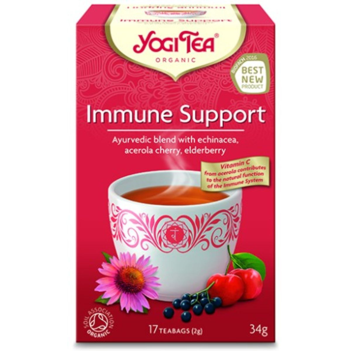 Yogi Immune Support Tea 17 bags